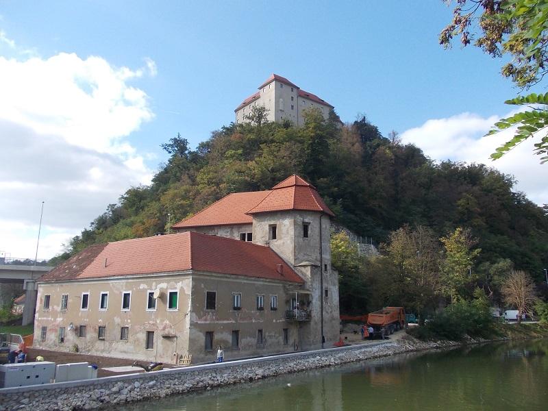 Turn castle Brestanica