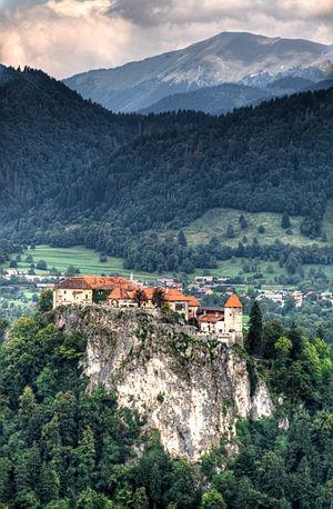 Bled Castle, Slovenia.