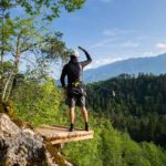 Become an eagle, try Zipline dolinka in Bled