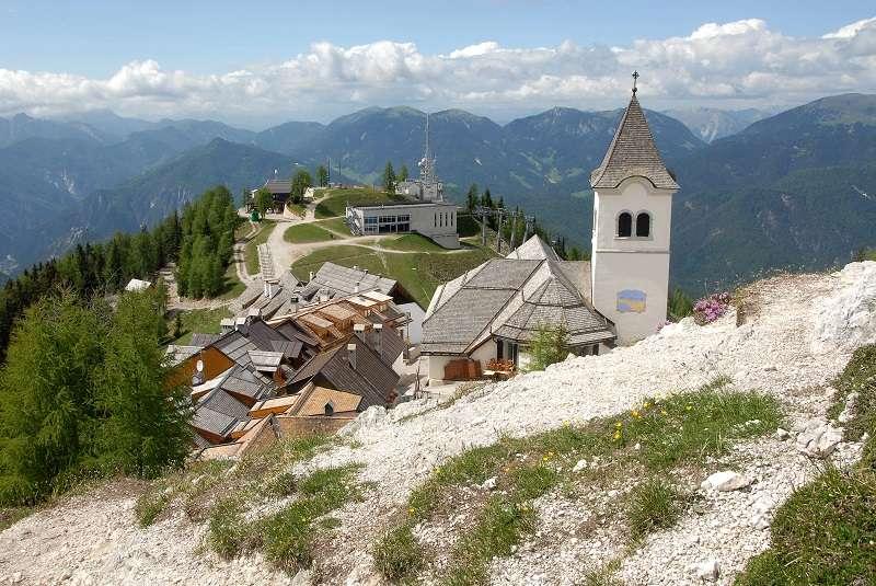 Monte Santo di Lussari - church