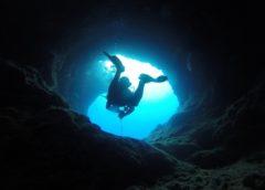 Cave dive - Cave dive in Slovenia